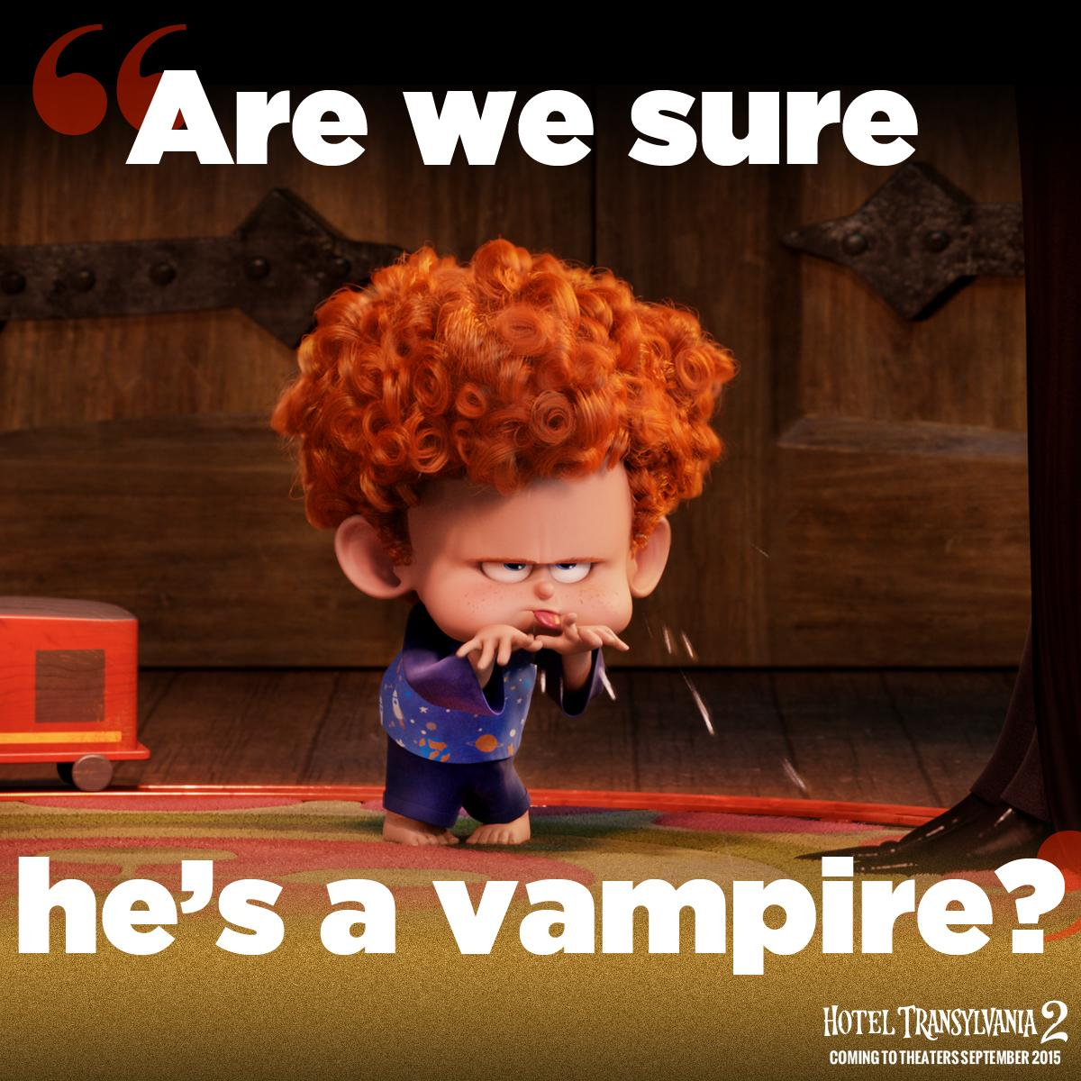 Hotel Transylvania On Twitter Who Do You Think Baby Dennis Will Take After