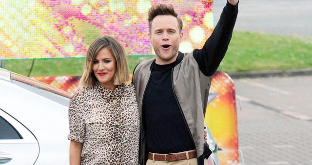 d50085da9cf9ee Caroline Flack's Equipment Natural Brown All Over Leopard Print Long Sleeve  Collared Button Up Silk Shirt