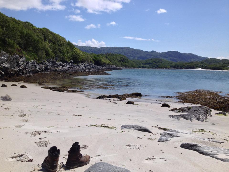 beach at Morar