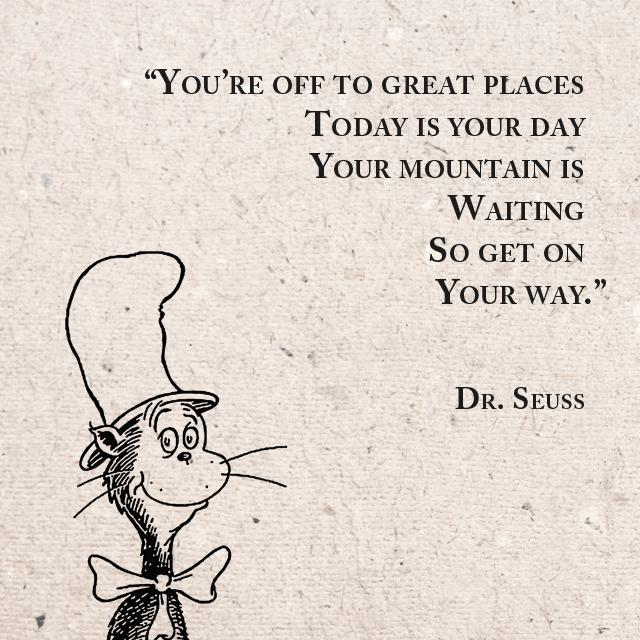 Zoe Saldana On Twitter Today Is Your Day Quotes Drseuss Http