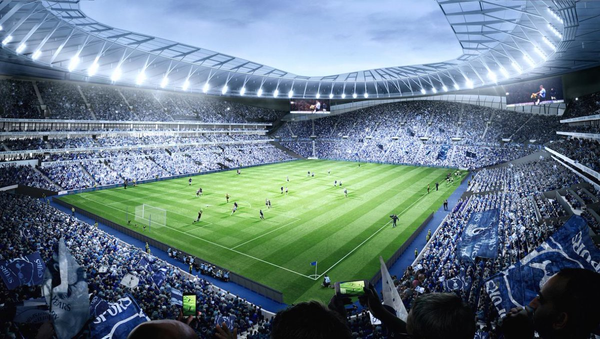 Our new home. Cheers Daniel! COYS!!  @SpursOfficial http://t.co/pJkdW2Qpn6