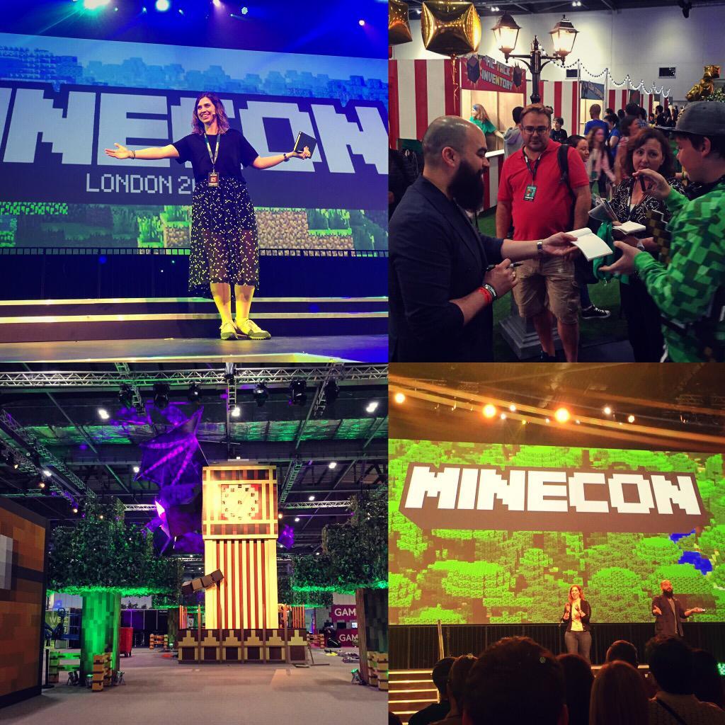 Best #MINECON yet!!! #MINECON2015 #Minecraft http://t.co/YuqJaEyf9N