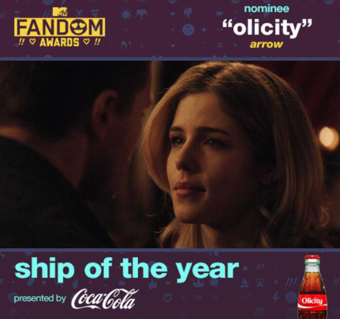 THE POLL IS OFFICIALLY CLOSED! 15 MILLION NOTES FOR #OLICITY with a 4 Million (Lead). Congrats!