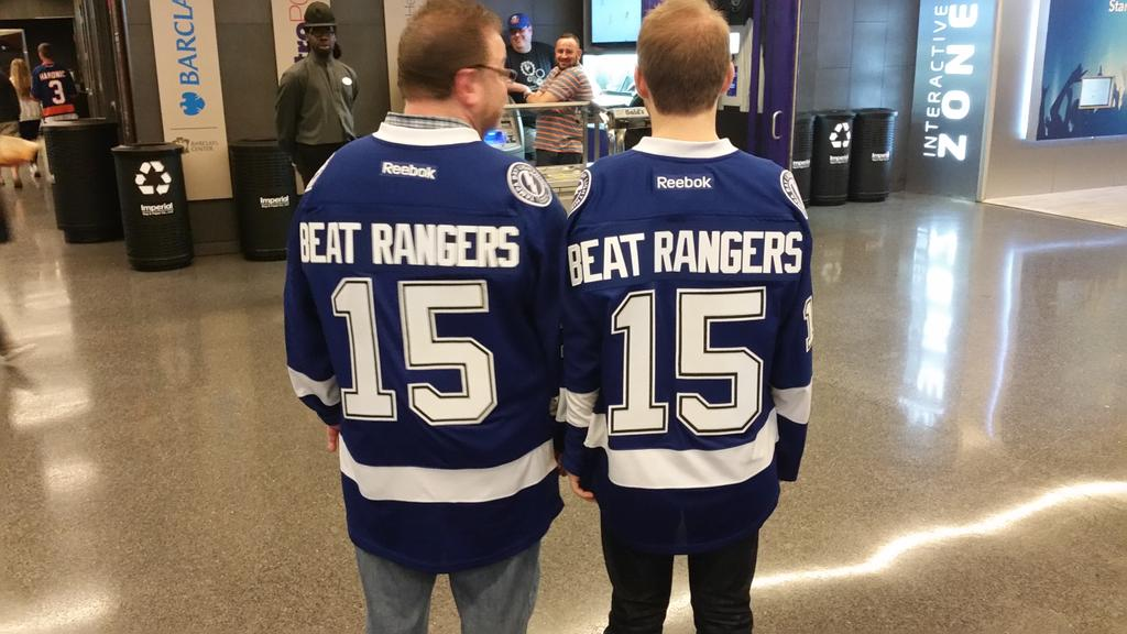 Best jersey of the night! #BlueAndWhiteScrimmage @DFriedmanOnNYI @GreenLanternJet @IslesBlog @NYIslesNation http://t.co/RKNG0KCaZi