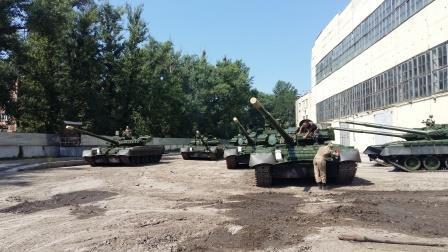 """""""Укроборонпром"""" передал армии первые модернизированные танки Т-80 - Цензор.НЕТ 8373"""
