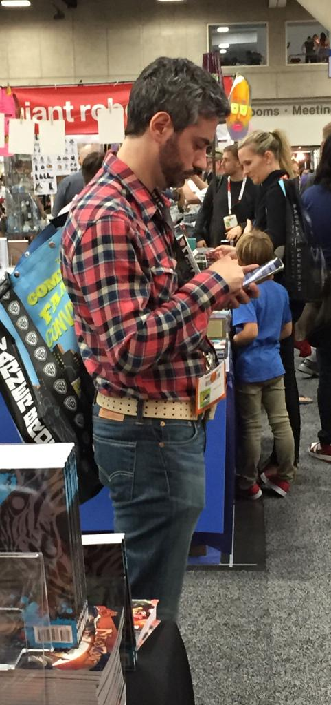 Best unintentional George Lucas costume of the day. #sdcc http://t.co/pZonQdEnz1