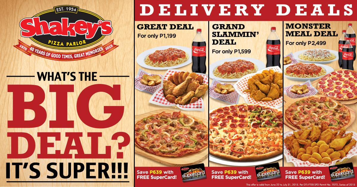 Shakey's coupons