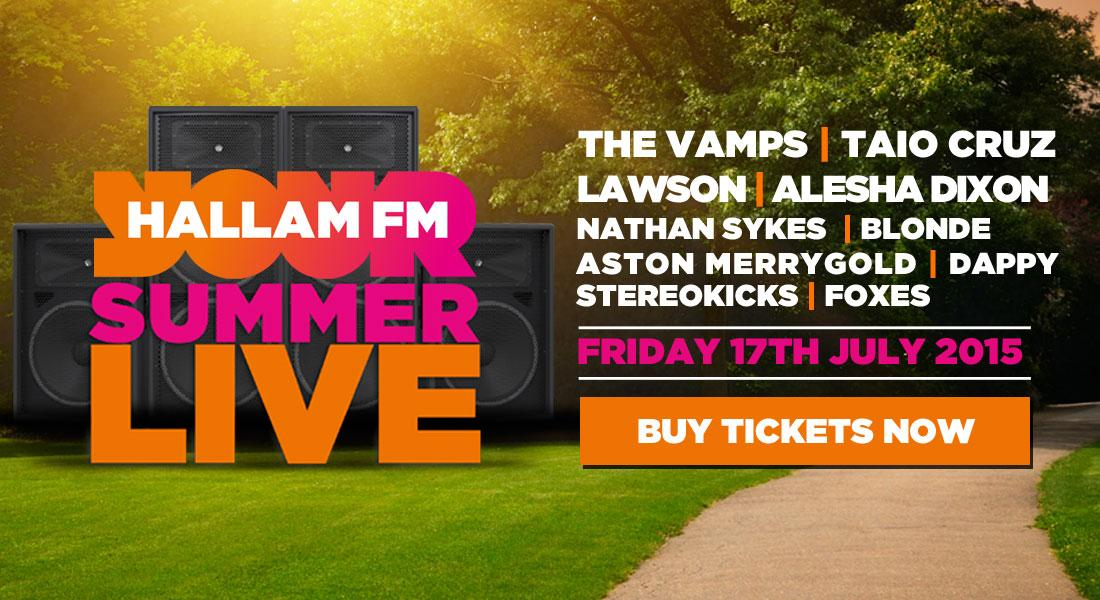 One week to go before we party South Yorkshire! Have you got your tickets? #HallamFMSummerLive http://t.co/YHXPesqFJH http://t.co/GXoRh8CXax