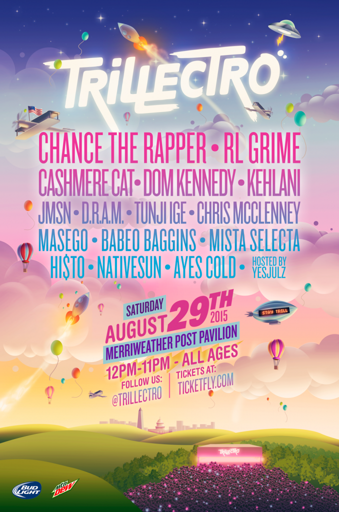 JUST ANNOUNCED: @Trillectro on 8/29! Tix on sale TOMORROW at 10am! http://t.co/A2tPVXTw34 #TrillectroMPP http://t.co/5JdFbmAEWO