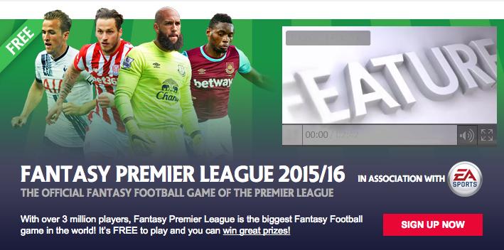 fantasy premier league 2015/16 free