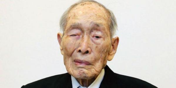 L'uomo più vecchio del mondo, il giapponese Sakari Momoi è morto oggi