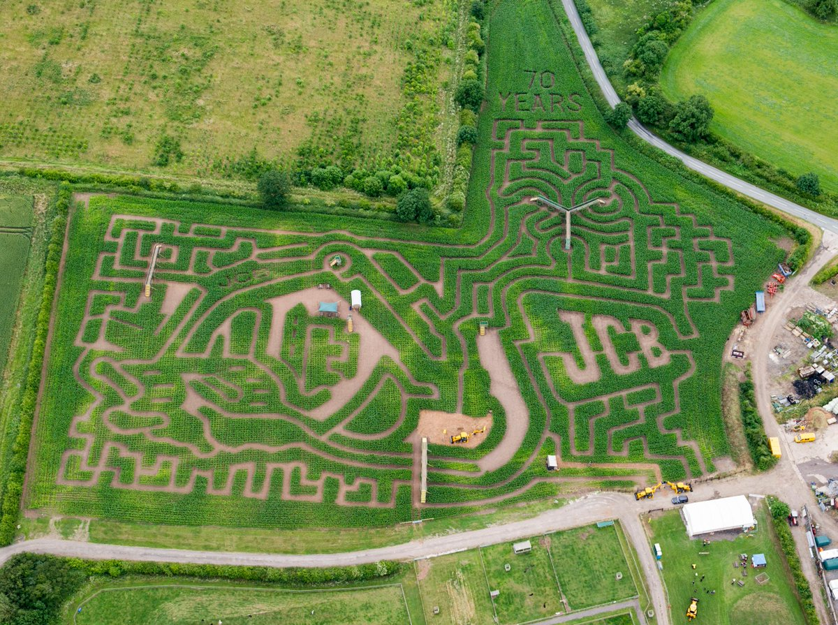 National Forest Adventure Farm On Twitter Jcbmachines The Jcb Themed Maize Maze At The National Forest Adventure Farm Burton On Trent Opens This Sat Http T Co 4p6qxfhsmo