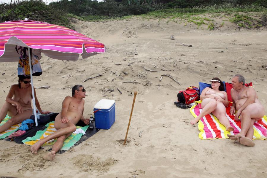 nacktbadende Florida: Haulover Beach