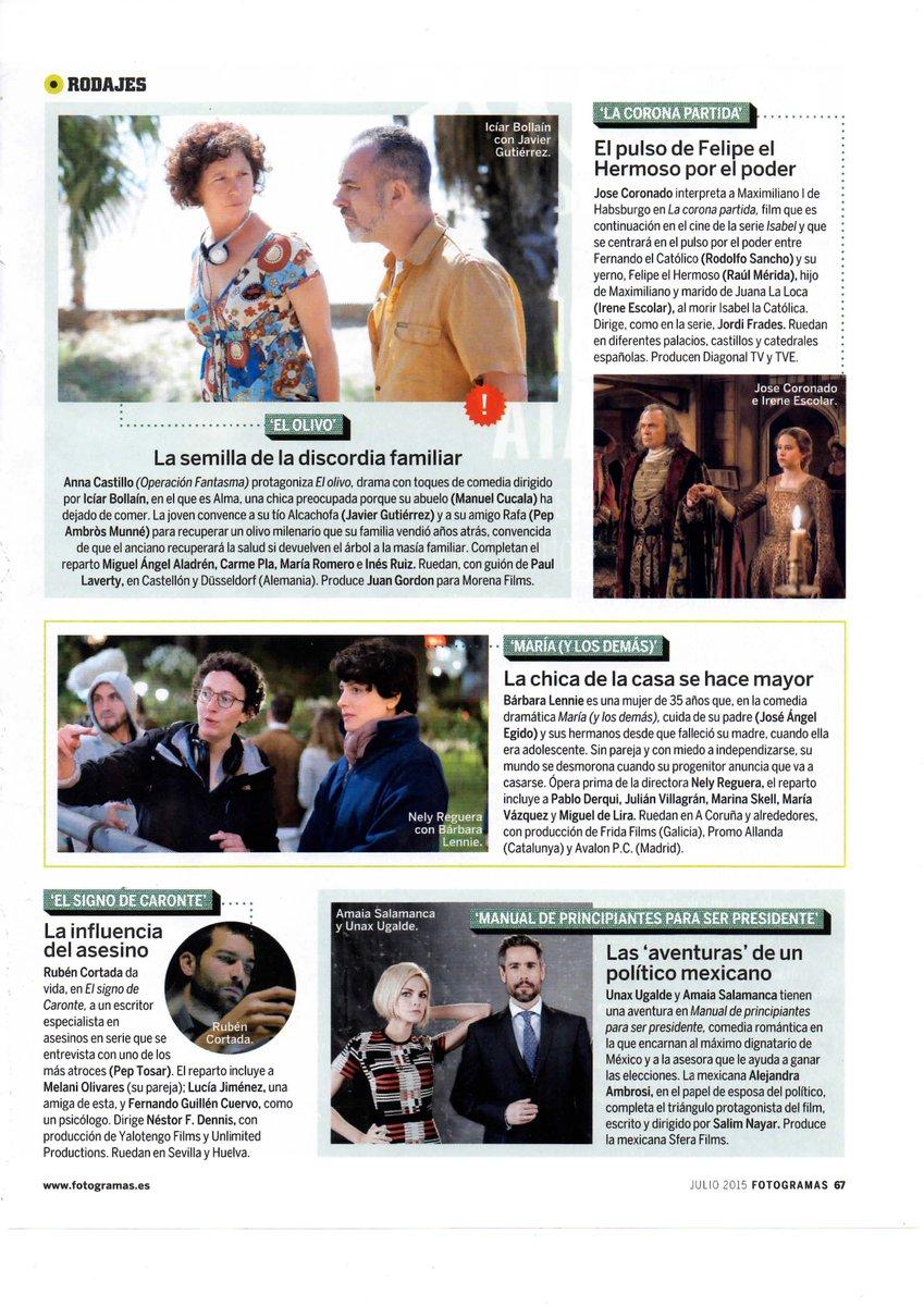 """2015 - """"El Olivo"""" [Nuevo largometraje] - Página 4 CJeUbwkWUAAe-It"""