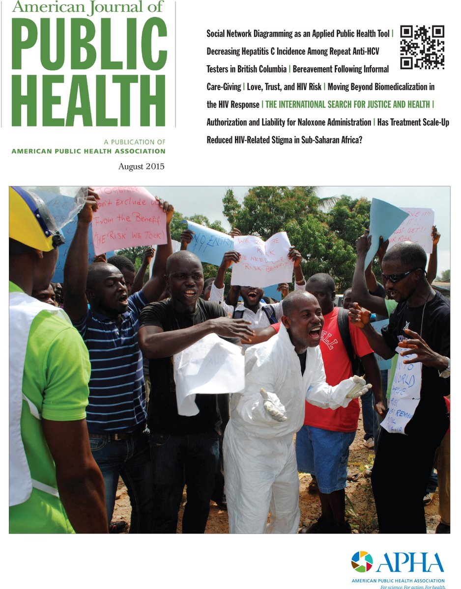 "Now available: our full August issue, ""The International Search for Justice and Health""! http://t.co/SarXNLwt63 http://t.co/fVRRm2gdiO"