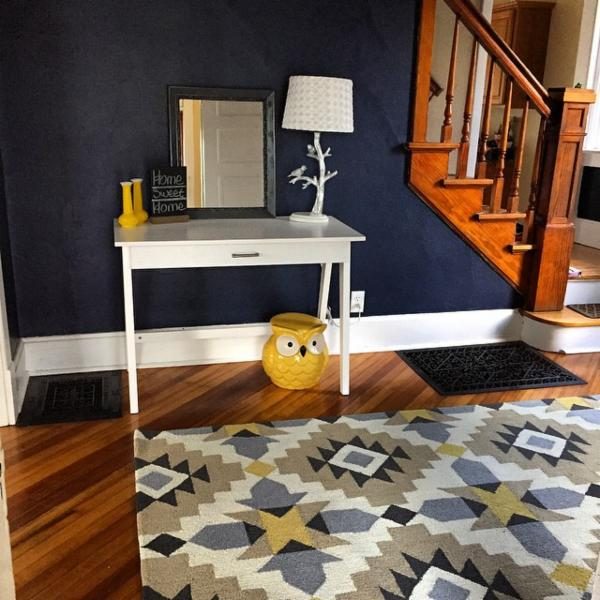 Sherwin Williams On Twitter Erika From Instagram Has Her Foyer Looking Nice In Naval Sw 6244