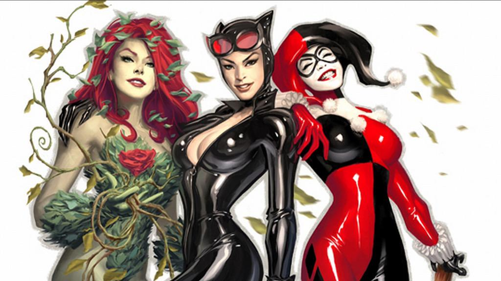 Harley Quinn, Poison Ivy and Catwoman are squad goals http://t.co/rZy6VeJgHe