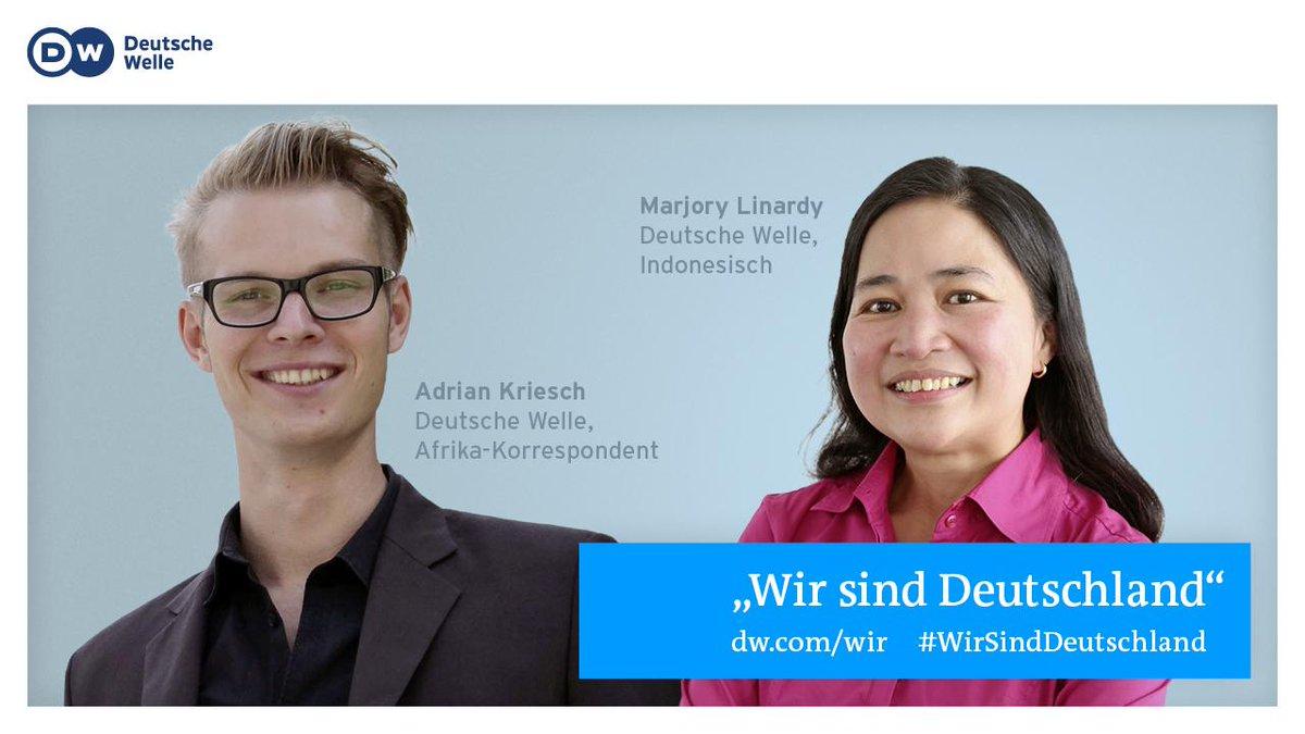 #DW-Aktion #WirSindDeutschland: Adrian Kriesch und Marjory Linardy sind dabei. http://t.co/KrPtbPfZGB