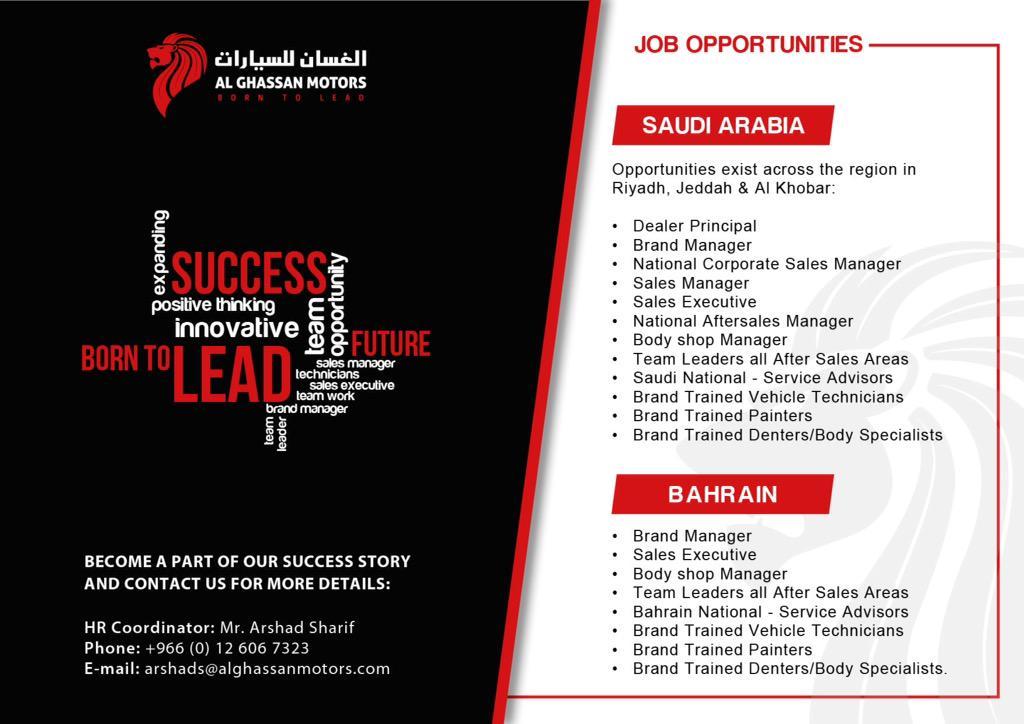 Al Ghassan Motors on Twitter: