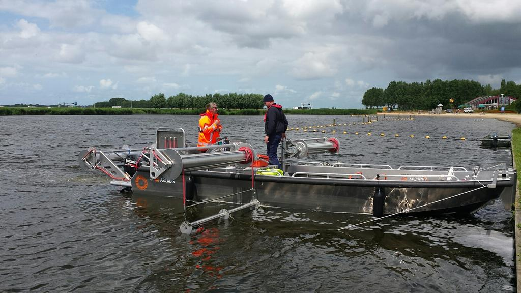 Nieuw wapen Delfland tegen blauwalg