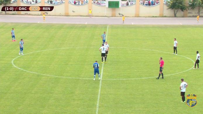 Screenshot at kick-off; photo: Dacia