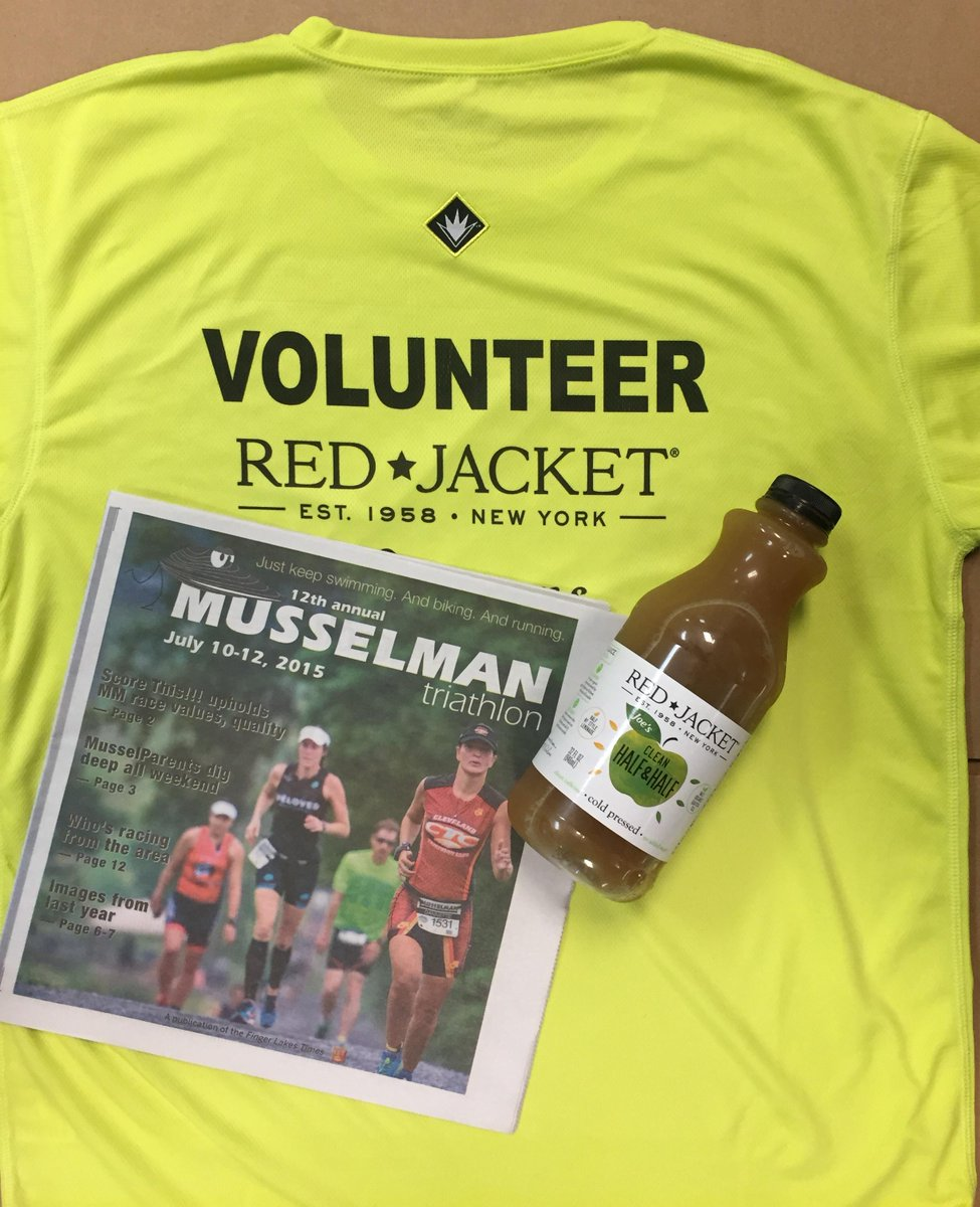 Check out our #musselman2015 swag! @musselmantri We'll be rocking these all weekend! #triathlon  #volunteer http://t.co/KP4Q1NyrV3