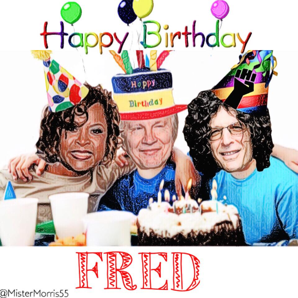 Join Our Celebration Of Fred On & Retweet To Wish Fred A
