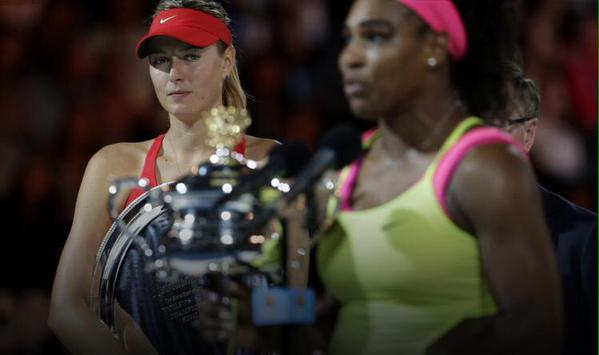 That's 17 times in a row Serena has beaten Sharapova now. At what point do people stop calling this a rivalry? 20? http://t.co/QGxzQRQXo6