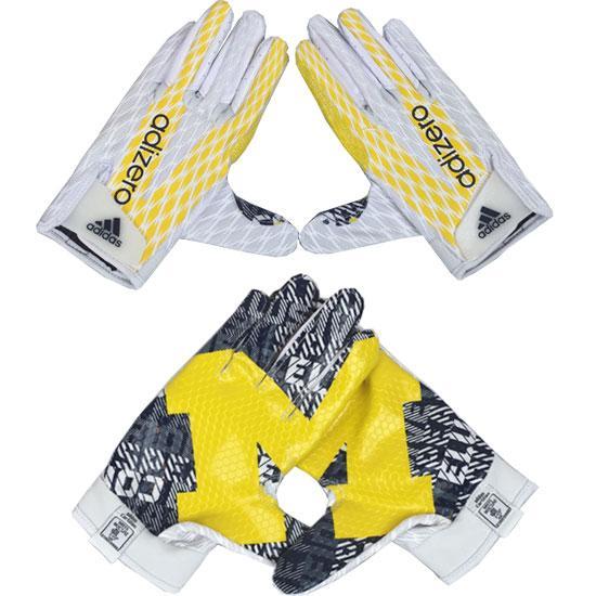 michigan football receiver gloves