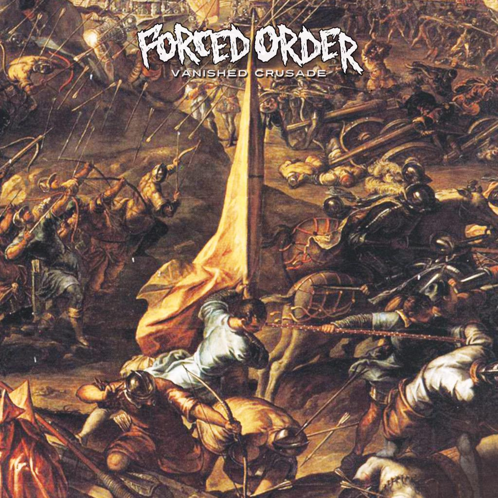 """Stream a new track from Forced Order's """"Vanished Crusade"""" now at http://t.co/qDKXS9FMVQ! http://t.co/vnn5NKdGEy"""