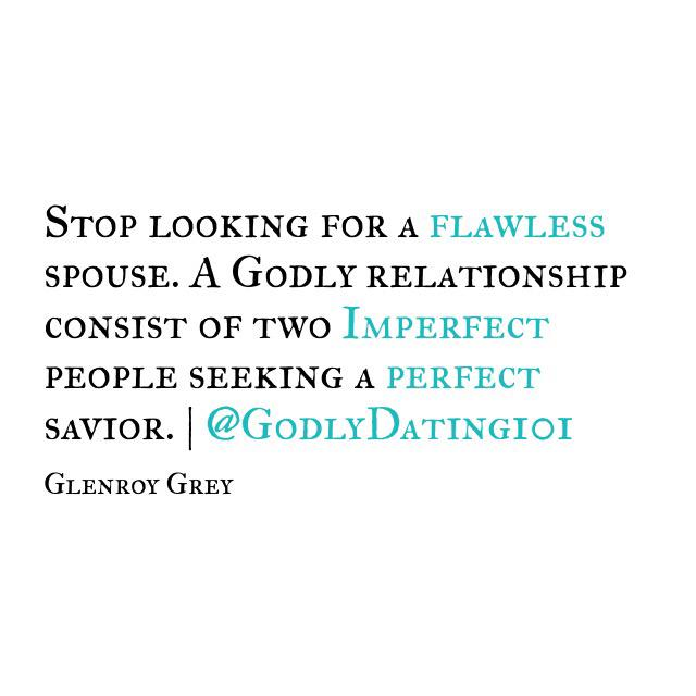 Dating below your standards