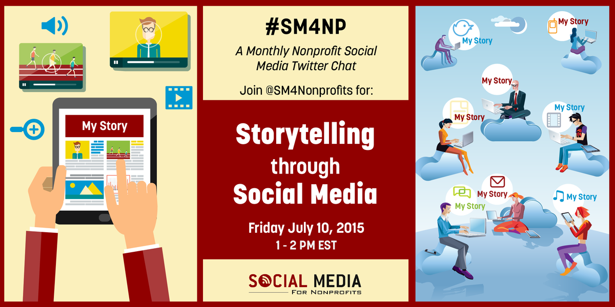 #Nonprofits have incredible stories that can drive ACTION. Join the #SM4NP chat to learn more and please RT: http://t.co/34a0LfdXzl