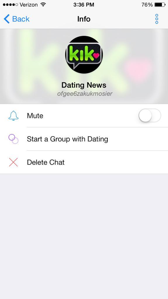 dating kik group
