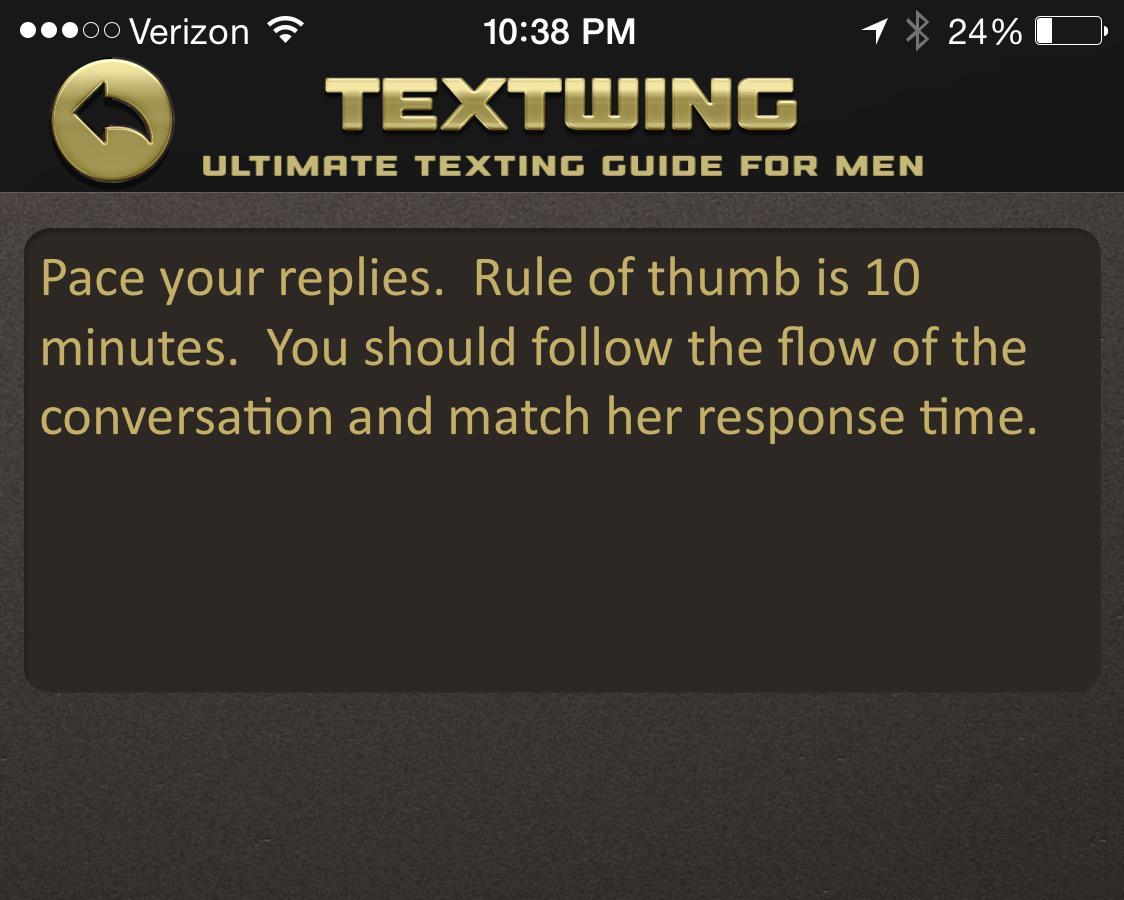 pua texting guide