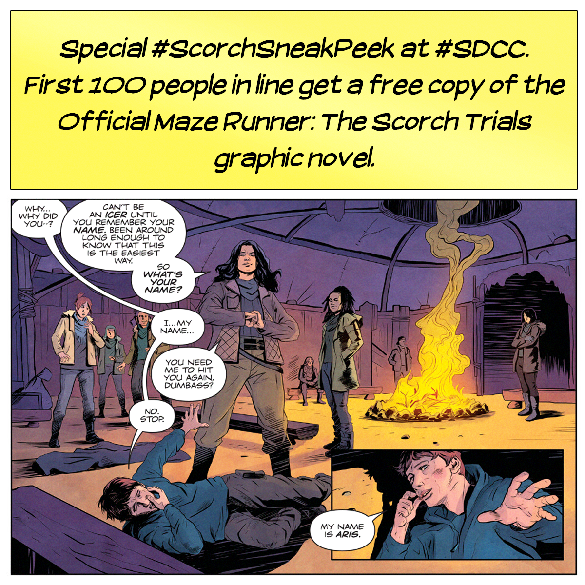 """Media Tie In Graphic Novels: The Death Cure On Twitter: """"Grab A Copy Of #MazeRunner"""