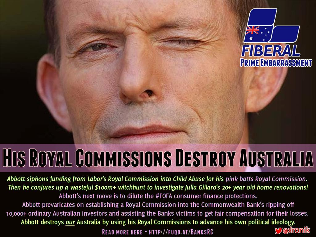 Never forget, Abbott defunded the RC on Child Sex Abuse so he could target his political enemies with #turc  #AUSpol http://t.co/qfbh6xiv4q