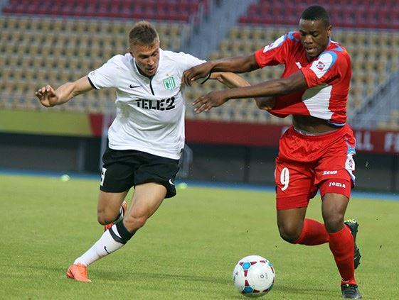Chuma Anene scored the opening goal; photo: Telegraf