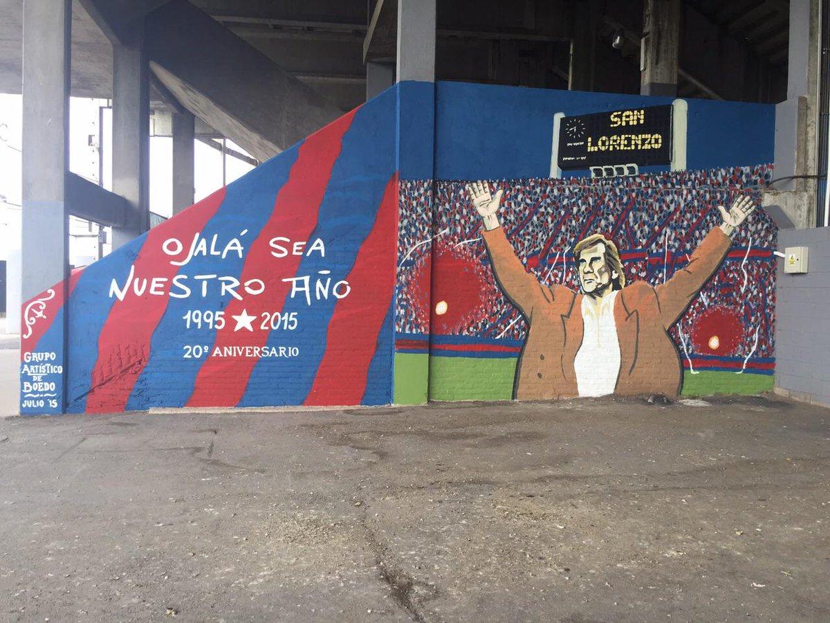 San Lorenzo On Twitter El Grupo Artistico De Boedo Tambien Se Suma