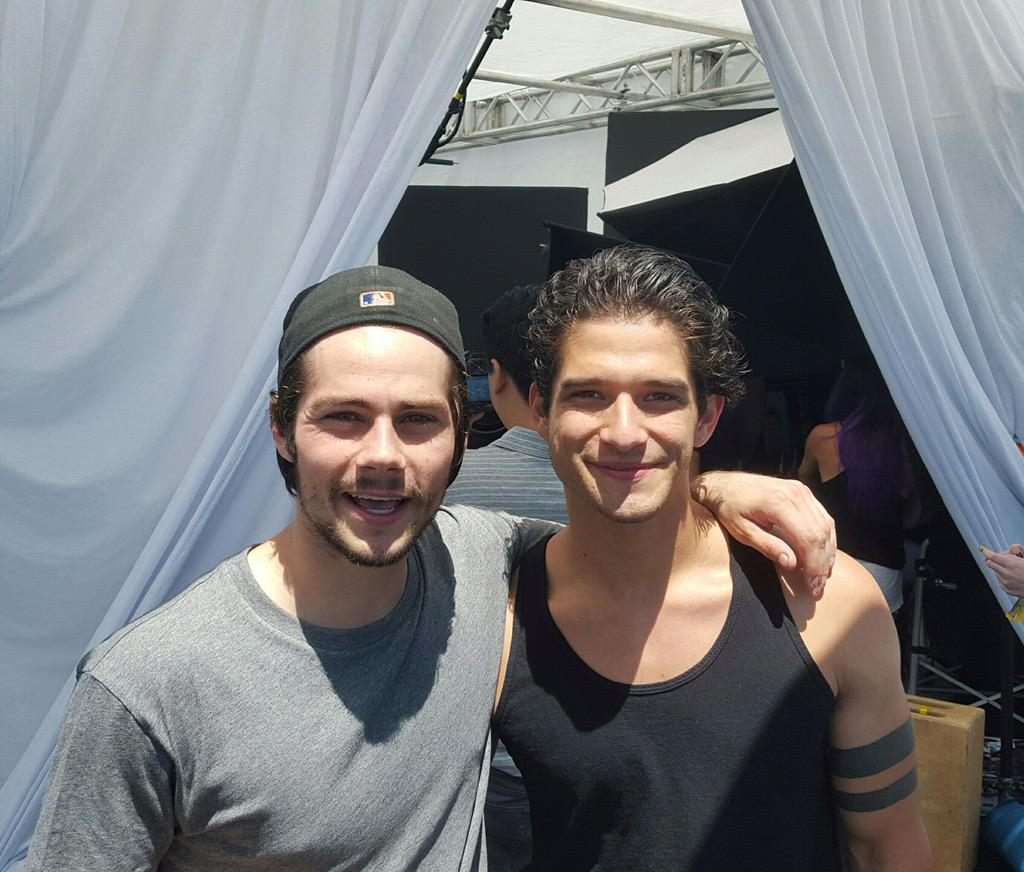 How happy are these guys? #TeenWolf has just been renewed for Season 6! http://t.co/gLO1QzGIlu