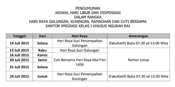 Imigrasi Ngurah Rai on Twitter: