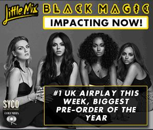 """Black Magic"" by @LittleMix had the BIGGEST PRE-ORDER OF THE YEAR in the UK so far! Congrats, ladies! That's HUGE! x http://t.co/4s8VYmoQds"