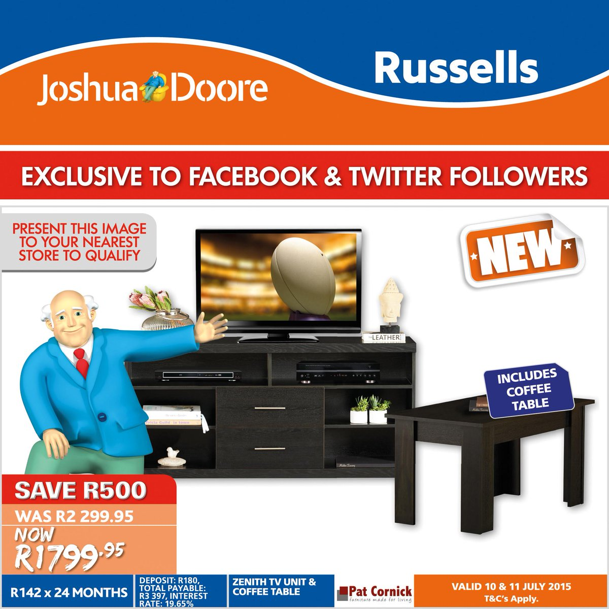 "joshua doore on twitter: ""exclusive to our fb & twitter followers"