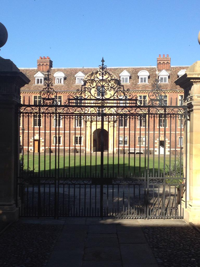 Getting ready for day 2 #placeofpiety @Catz_Cambridge http://t.co/hTcU8io1Mi