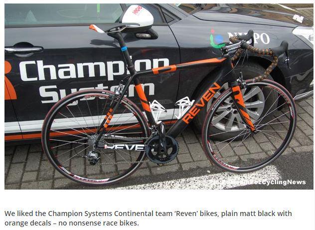 Reven Bikes On Twitter Pezcyclingnews Comments Revenbikes