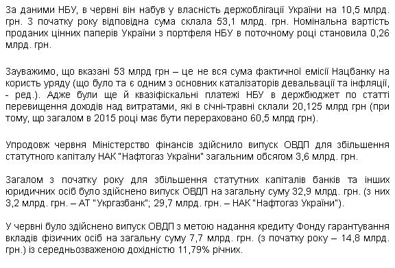 """Минфин взял более 11 млрд грн кредита для """"Нафтогаза"""" и Фонда гарантирования вкладов - Цензор.НЕТ 4589"""