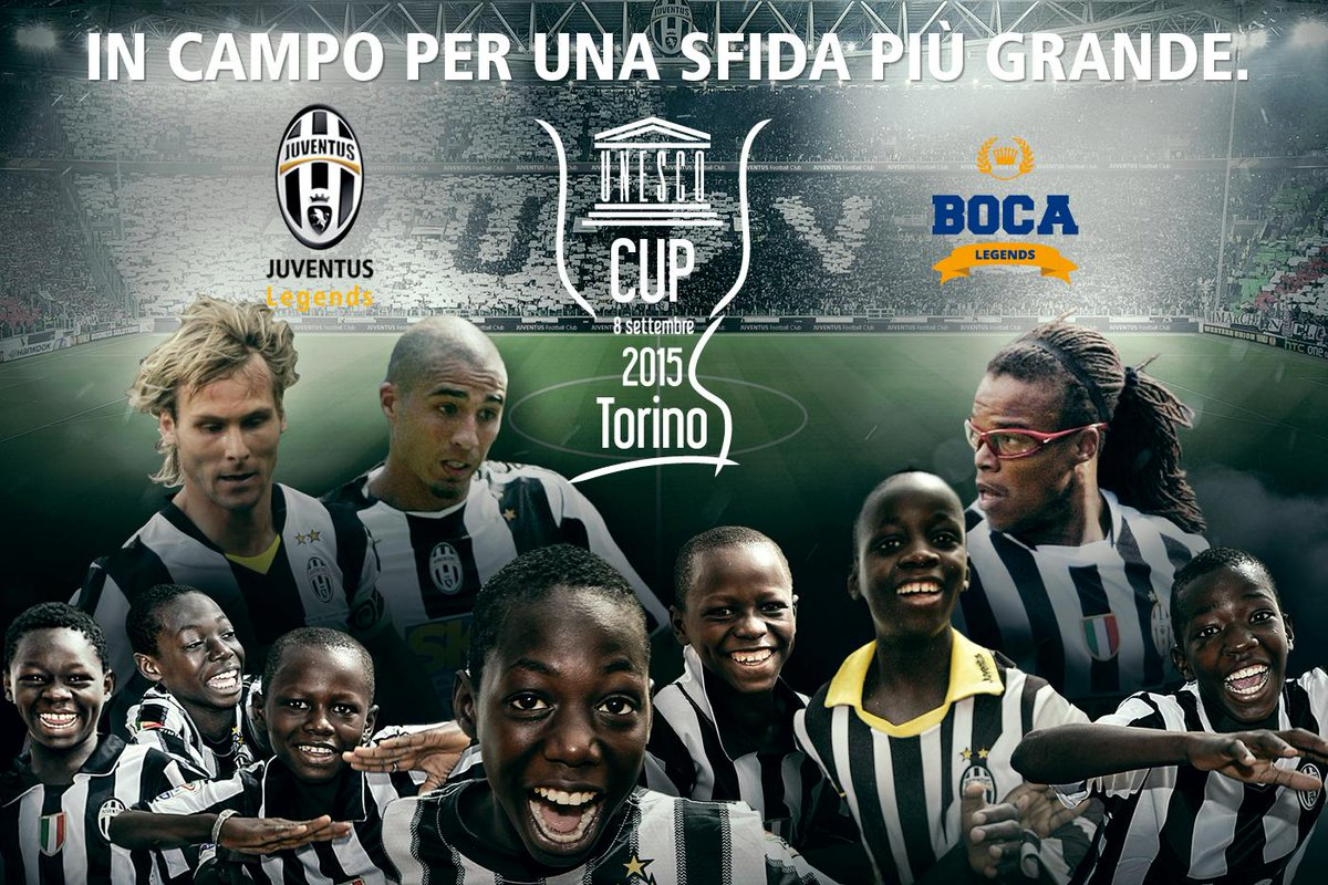 Unesco Cup: Juventus Legends - Boca Juniors, biglietti online prezzi su listicket.com