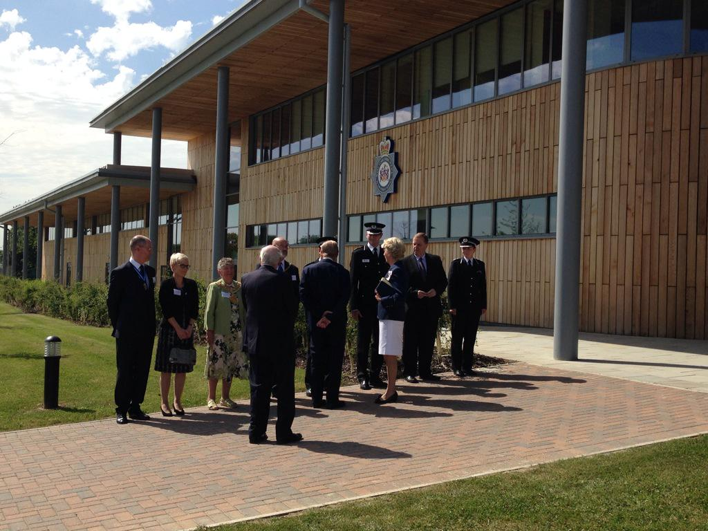 Duke Of Edinburgh Opens West Yorkshire Police Training Facility