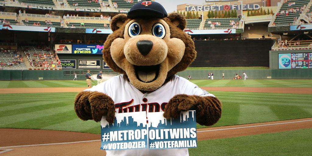@MrMet Right back at ya buddy!  #MetropoliTwins #VoteFamilia #VoteDozier @Twins @Mets  It's the final countdown!  RT! http://t.co/hGtnMfUQpE