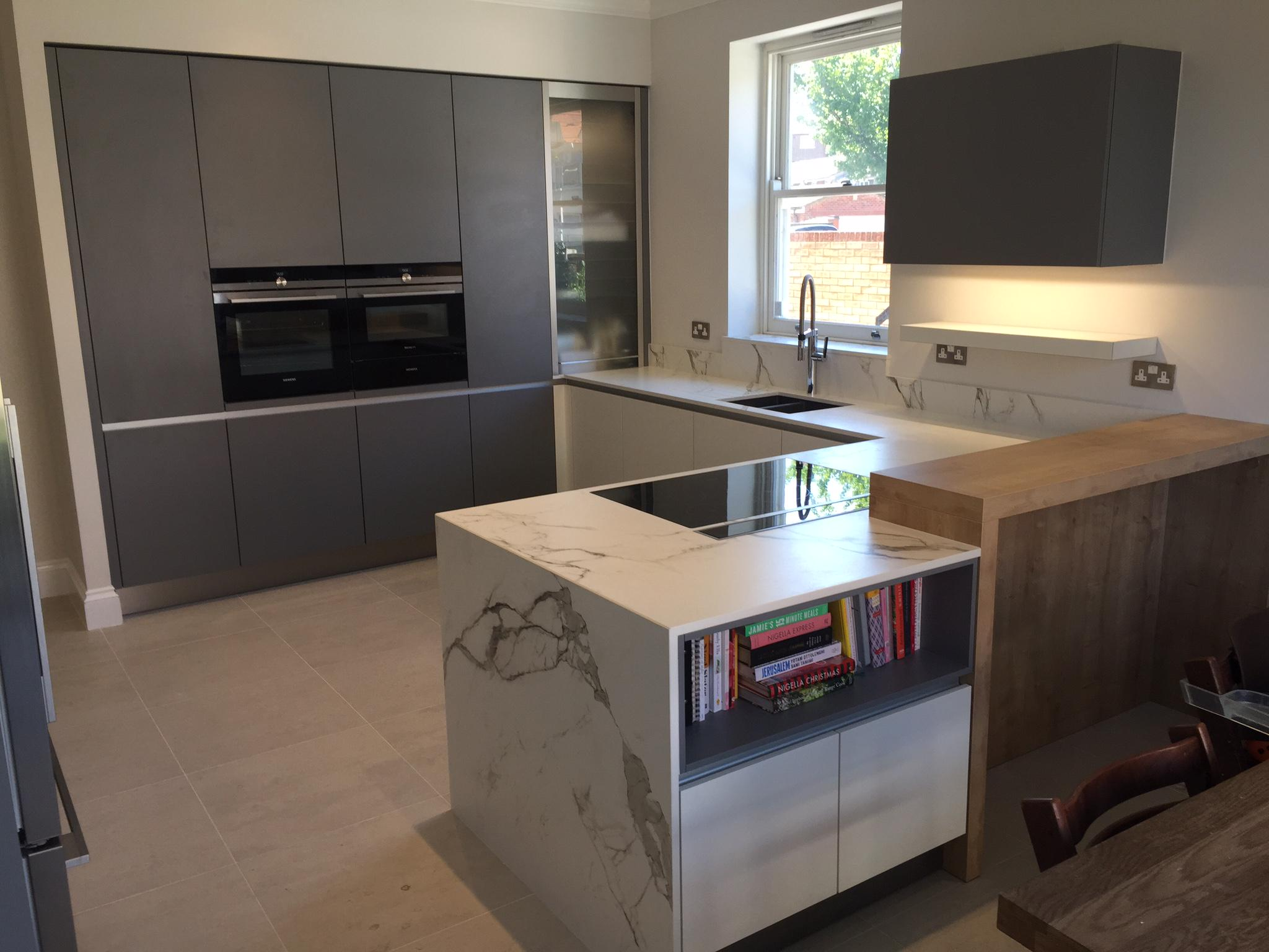 Kube kitchens on twitter beautiful kitchen designed by for Kitchen design upminster