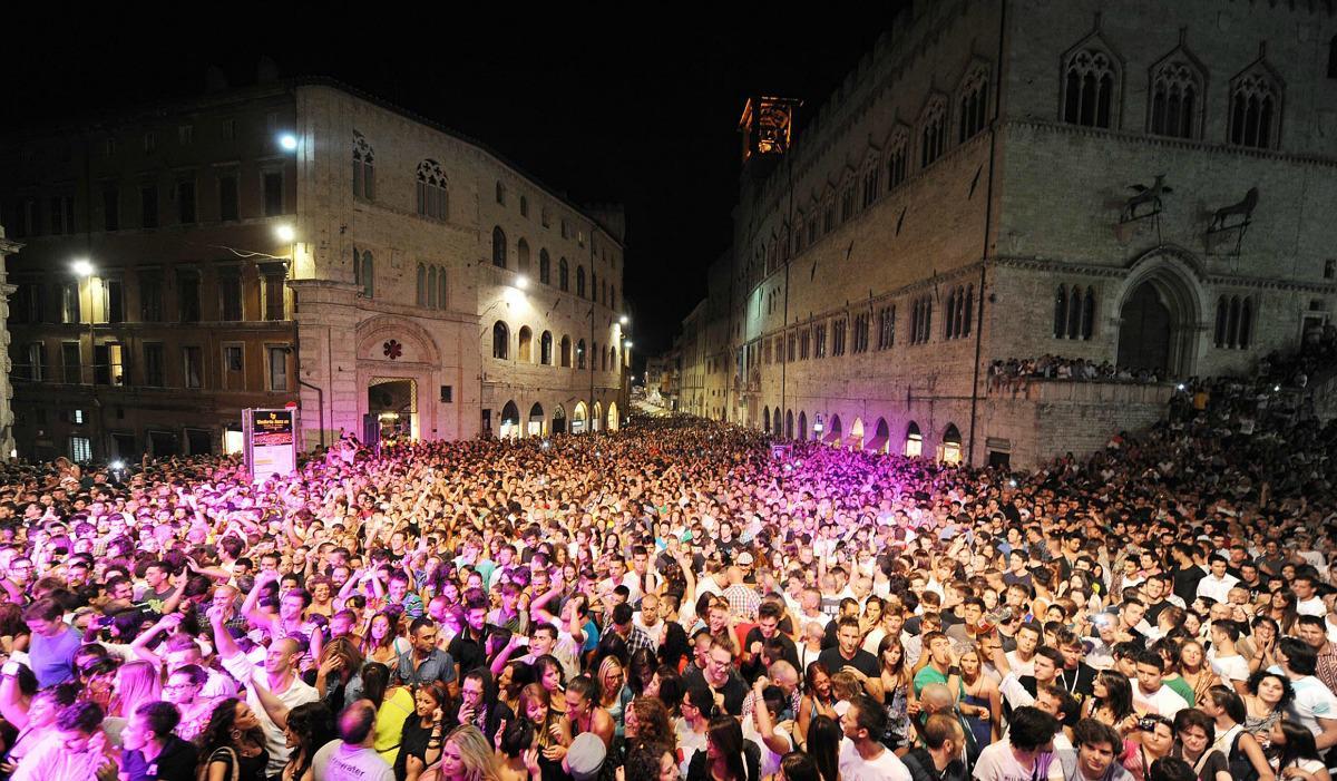 Ricola a Perugia in occasione di Umbria Jazz